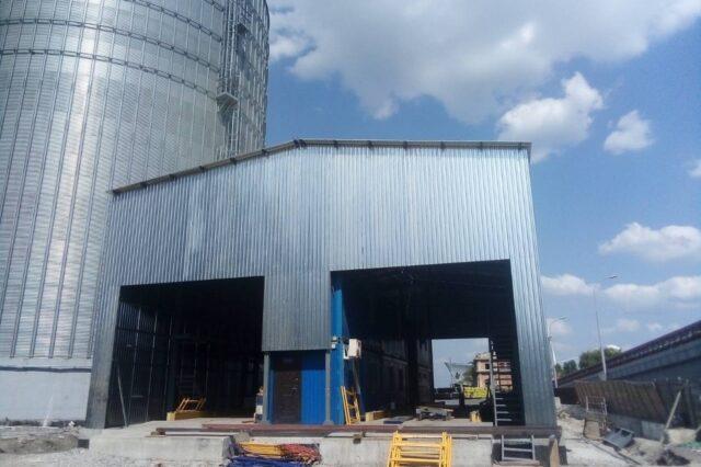 Produkcja i montaż metalowych konstrukcji pod klucz AUTO LOADS – 48 ton, Odessa, 2019