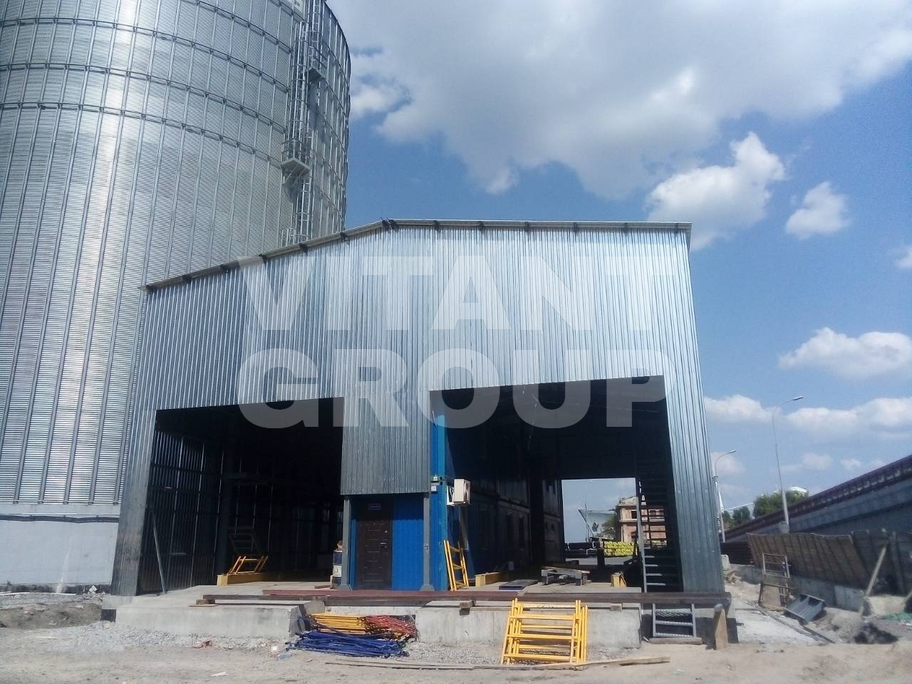 Manufacturing and installation of metal structures AUTO LOADS – 48ton Odessa 2019